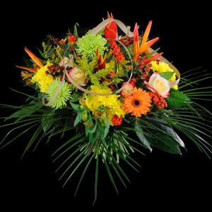 Deuils - Bouquet rond 80€