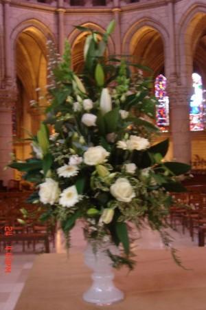 Mariage - Bouquet conique 80€