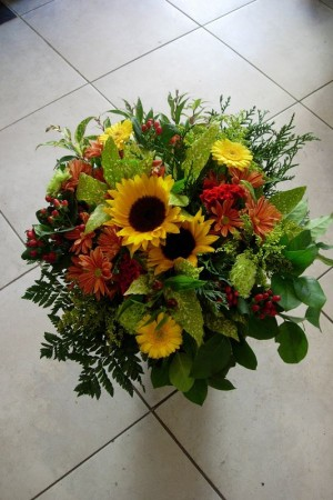 bouquet orange 40€