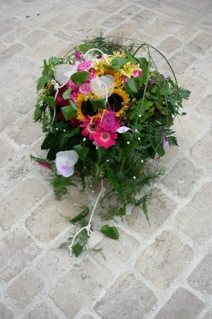 bouquet rond 120€